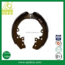 R90 certification semi-metal truck brake shoes made in china mainland