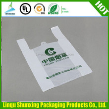 LDPE/HDPE plastic bags / recycled shopping tshirt bag / vest bag