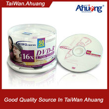 Compatitive price blank DVD+R 8x/16x virgin material A grade
