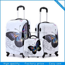 2014 hot sale luggage casters carry on bags