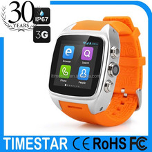 New sport Waterproof smart watch WCDMA 3G phone for Galaxy S6 S5 S4 Note 4 3 for HTC SONY LG android 4.4 smart watch