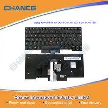 US UK layout notebook keyboard, Laptop Keyboard for IBM E430 E435 E330 E335 E430c E430S S430