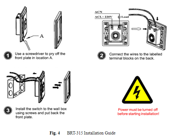 pir occupancy sensor switch  no neutral required