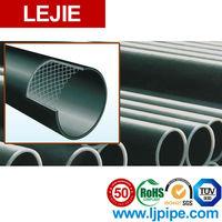 large diameter yellow plastic corrugated steel drain pipe