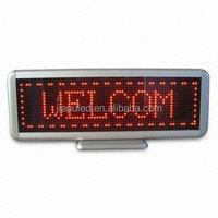 USB cable LED desk board/led table sign mini led display