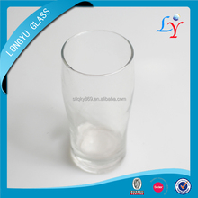 270ml machine made thin tall wholesale cheap glassware cups home goods