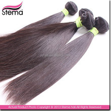 fashion designs can be restyled sales OEM service 100% bohemian straight hair extensions