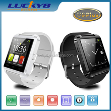 2015 Newest design U8 Plus high quality mens android smart watch with stopwatch,smart bluetooth watch