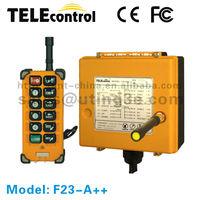 wired remote control F23-A++ concrete pump truck remote controller/overhead crane remote control price