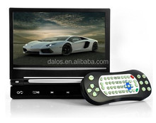 Car LCD TV 12V of auto headrest placement with 800 x 480 RGB resolution