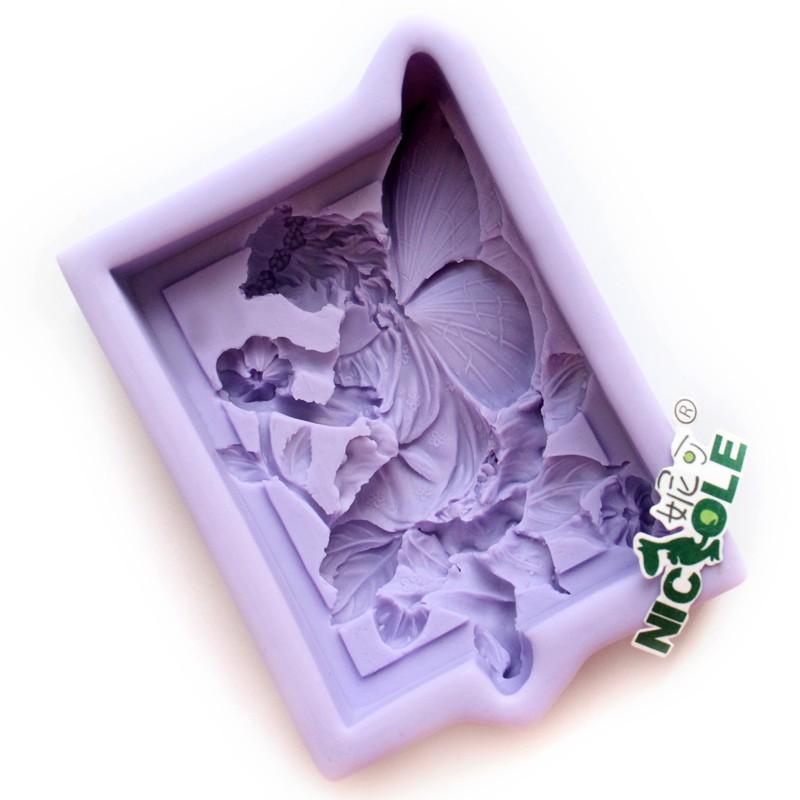 r0557 силиконовые фея мыло плесень