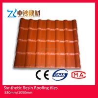 1050mm width ASA Plastic materials Spanish roof tiles