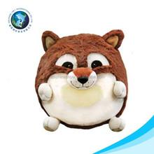 Hot selling squirrel ball animal plush