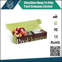 China Factory custom order flower shipping box