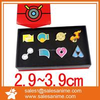 Pokemon cosplay custome crop metal pin bradge set