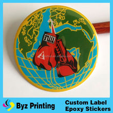 Custom labels printing adhesive stickers, printed logo sticker, plastic pvc label