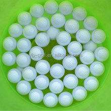 Plastic golf floating light ball