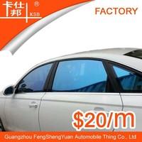 Best selling blue color ,car color change film, car purple window tint