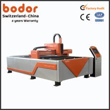Alumínio / aço inoxidável / cobre aço usado de corte a laser preço da máquina para venda