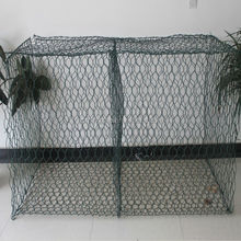 pvc coated Gabion Baskets Double Twisted Hexagonal Woven Steel Wire Mesh
