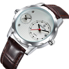 SKONE 9245 Japan movt multiple strap watch