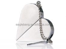 8gb jewelry usb flash drive/lock shape/diamond/necklace