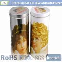 custom printed tin boxes sale / tea tin box round, tea tin box