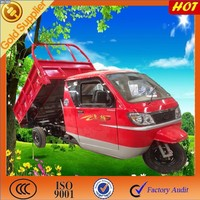 motorized Self Dumping Motor tricycle with cabin /professional desgin for cago pasenager tricycle