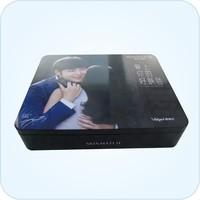rectangle metal cosmetics packing box