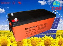 high performance 200ah Deep Cycle 12V gel battery solar panel battery