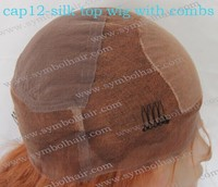 wholesale factory price silk top wig cap with combs