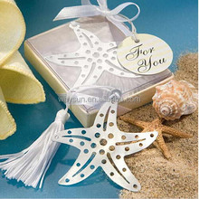 Lover Collection Starfish Bookmark Favors wedding gift