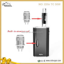 2015 china factory best selling products e cigarette wholesale high quality box mod Elfin TC 50w box mod