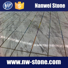 Hot sale Greece polished volakas white marble tile