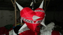 Advertising Inflatable Party Decoration LED Star , Outdoor Promotional Inflatables With LE