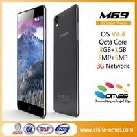 Bueno Precio M69 Octa Core 1.7Ghz MTK 6592 3G dual sim andorid movil cellularis celular 6 inch