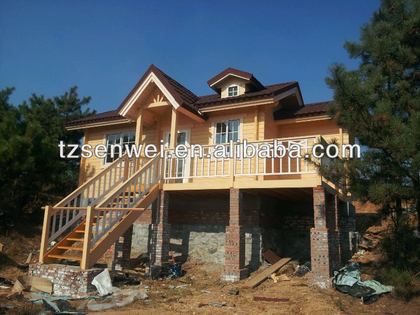 Bois maison chalet maison pr fabriqu e cabane en - Maisons prefabriquees en bois ...