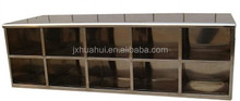 Hottest model of stainless steel shoe storage cabinet in Medical Industry