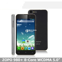 "5""inch Original ZOPO ZP980+ Android 4.2 MTK6592 Octa Core 1.7GHz Multi Language 14MP zp980 3G smartphone"