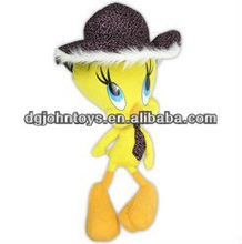 promotion gift tweety bird plush stuffed animal toy
