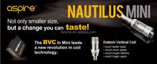 Eigate Aspire Nautilus Mini refill conveniently via review