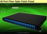 For fiber network item 24 port fiber optic patch panel in telecommunication