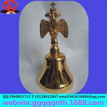 wireless restaurant table waiter call service digital electric remote apartment door chime zinc alloy gold metal dinner bell