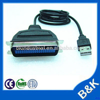 London hot sale usb to 36pin parallel adapter ieee 1284 manufacturer