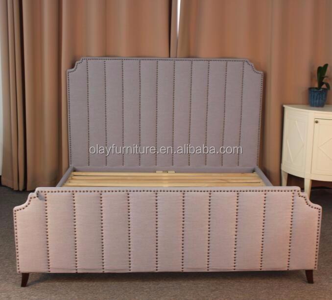 Magnífico Muebles De Tamaño De Cabeceras Rey De Tela Ornamento ...