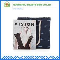 New design canvas fashion canvas fancy ladies handbags wholesale