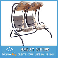 High quality double seats swing, double chair swing, outdoor double swing chair
