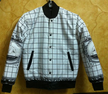 Sublimation varsity jackets/ Sublimation printed bomber jackets/ Varsity jackets with custom all over printed artwork design