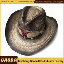 Alta qualidade com preço baixo ráfia para chapéu de cowboy
