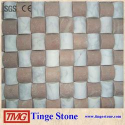 waterjet mosaic for bathroom floor tile